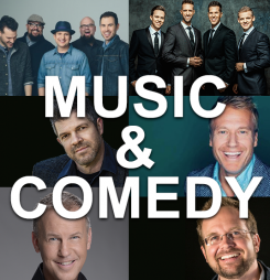 Music & Comedy Lineup